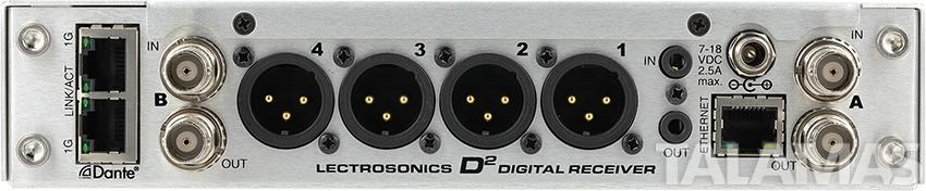 Lectrosonics DSQD 4 Channel Receiver