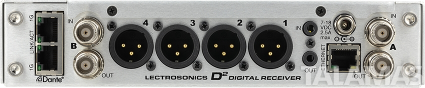 Lectrosonics DSQD 4 Channel Receiver