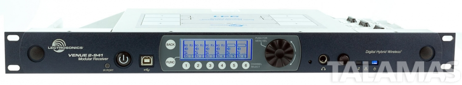 Lectrosonics Venue 2 Six Channel Modular Receiver