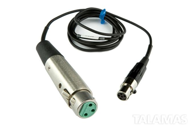 Lectrosonics MC35 Line level Input adapter cable TA5F to XLR