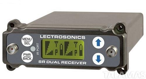 Lectrosonics SRc Wideband Dual Channel Digital Slot Receiver, B1 (537-614 MHz)