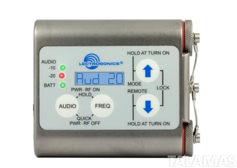 Lectrosonics WM Watertight beltpack Transmitter with VT500
