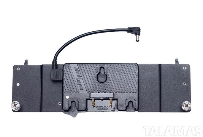 Litepanels 1X1 AB Gold Mount Battery Adapter Plate