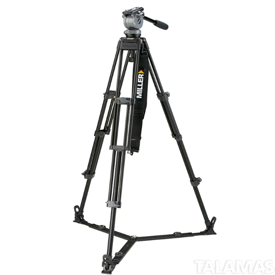 Miller System DS-20 2-Stage Aluminum Tripod System