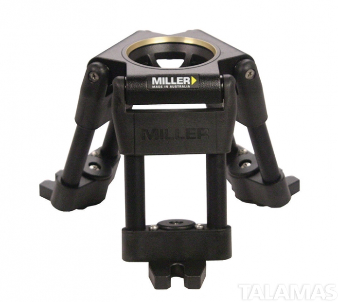 Miller 75mm High Hat with 75mm Tripod Bowl