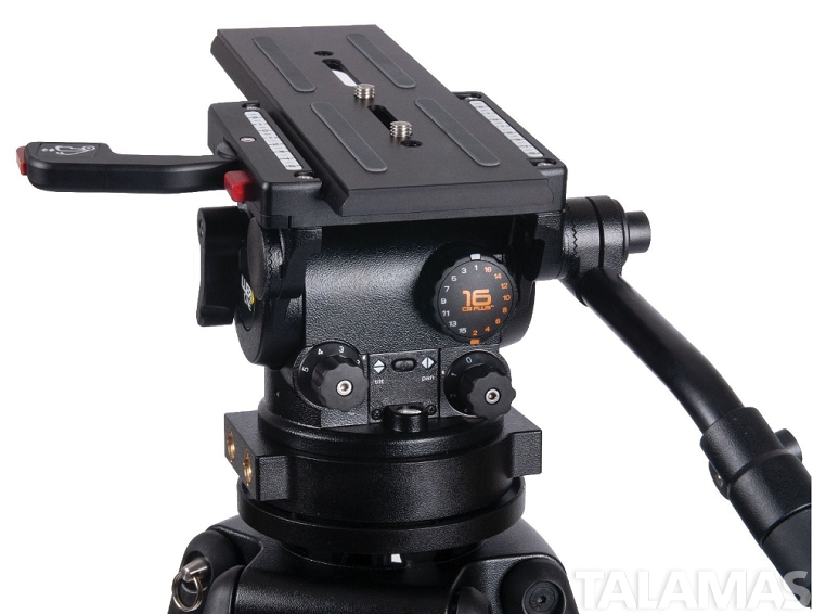 HDC 100 1 Stage Alloy Tripod System