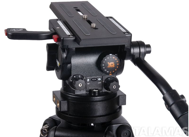 HDC 1 Stage Alloy Tripod System