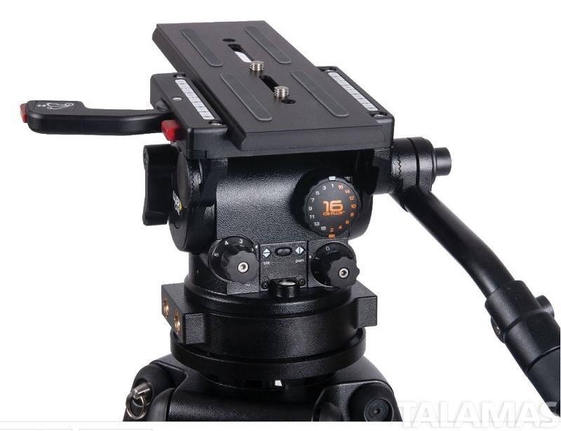 CiNX 3 HDC 150 1 Stage Alloy Tripod System