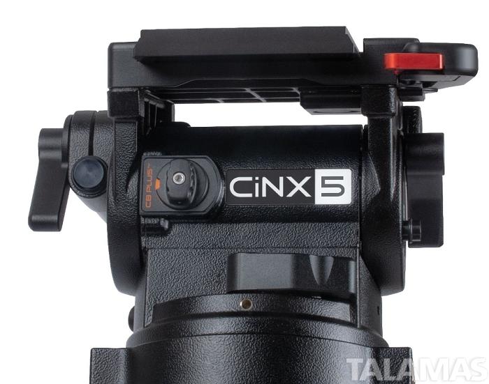 Miller CiNX 5 HD 100 2 Stage Carbon Fibre