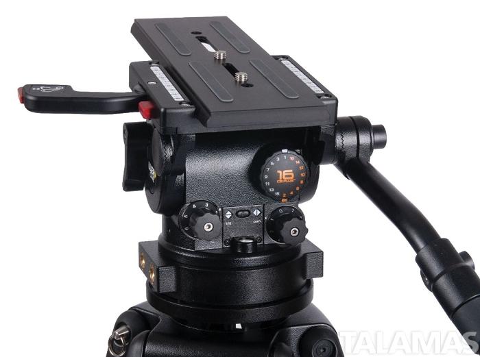 HD 100 2 Stage Carbon Fibre Tripod System