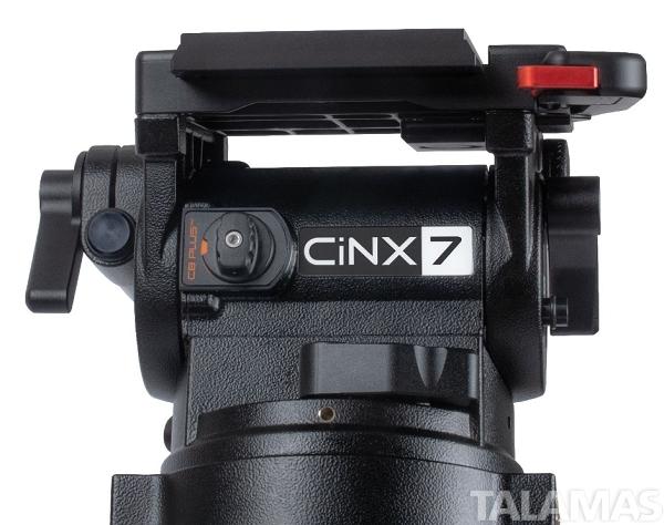 Miller CiNX 7 HDC 150 1-Stage Alloy Tripod