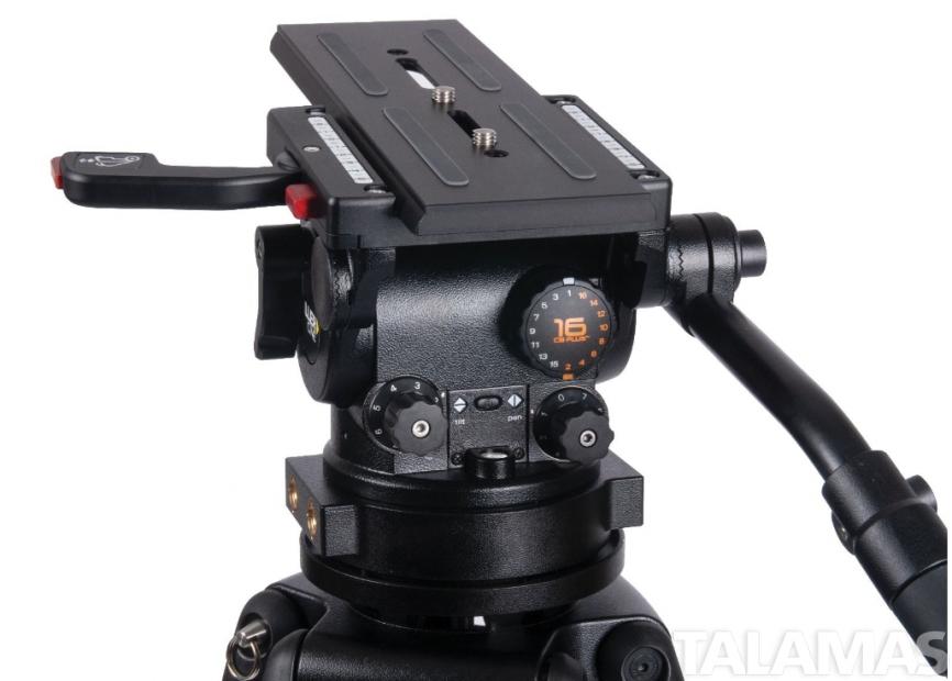 CiNX 7 HDC 150 1-Stage Alloy Tripod System