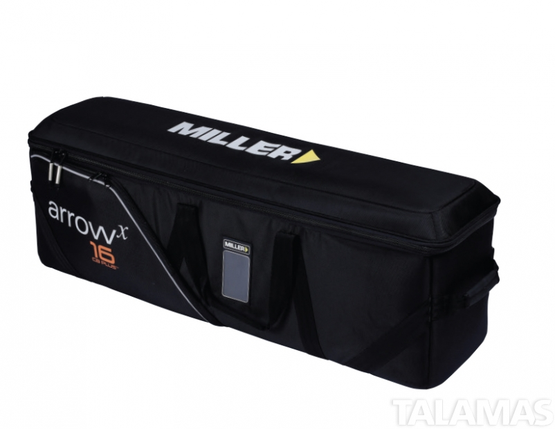 Miller System Arrowx 5 2-Stage AL w/Sprinter II Aluminum Tripod