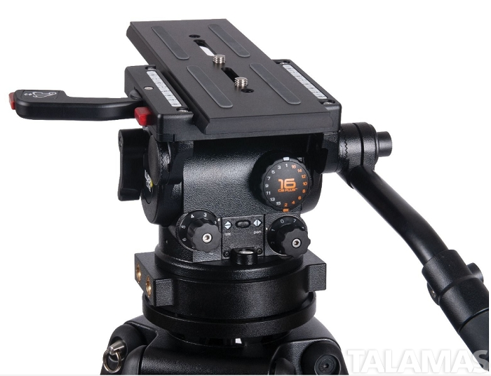 HDC MB 1 Stage Alloy Tripod System