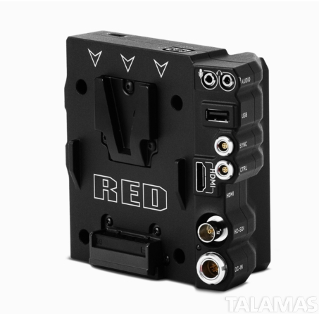 RED DSMC2 V-Lock Base I/O