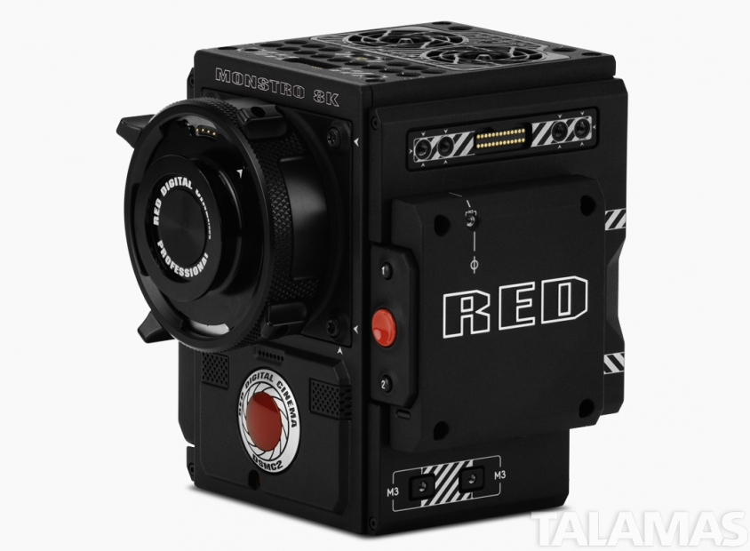 RED Digital Cinema DSMC2 BRAIN with MONSTRO  8K VV Sensor - PL Mount