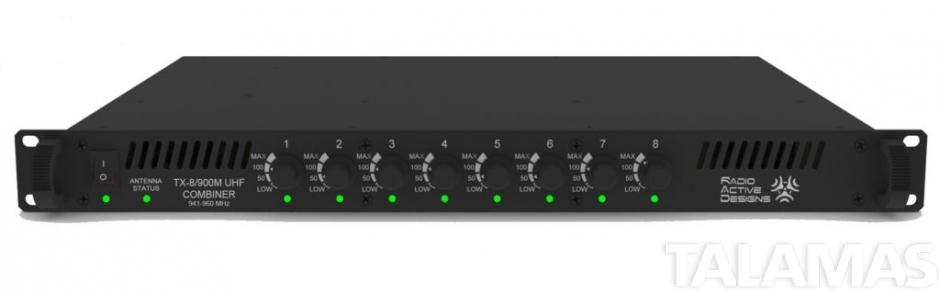 Radio Active Designs 8-Way Transmit Combiner
