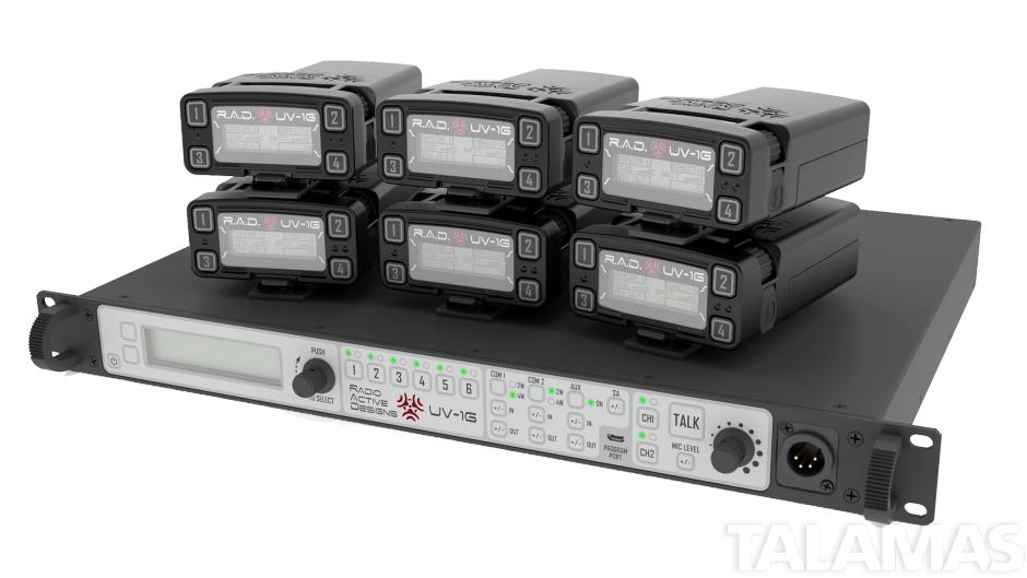 Radio Active Designs UV-1G Six-Up Base Station