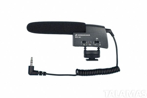 Sennheiser MKE400 Camera Mount Shotgun