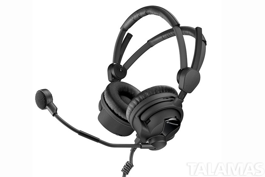 Sennheiser HMD26-II  Professional Broadcast Headset,  dynamic microphone, 600 Ohm,  XLR and 1/4