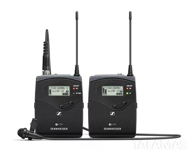 Sennheiser EW112P-G4 Portable System Block G: (Frequency Range 566 – 608 MHz)