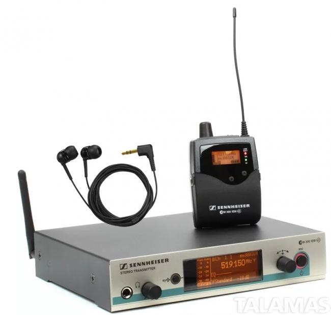 Sennheiser EW300IEM-G3 Wireless Monitor System, Block G
