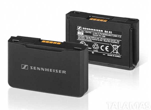 Sennheiser Rechargeable Pack for SK 9000 and SK 6000