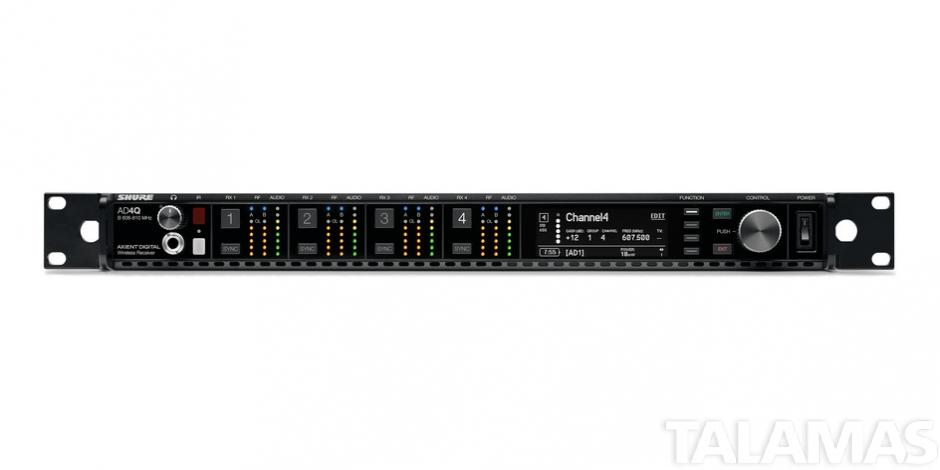 Shure AD4QUS Four-Channel Receiver A (470-636 MHz)