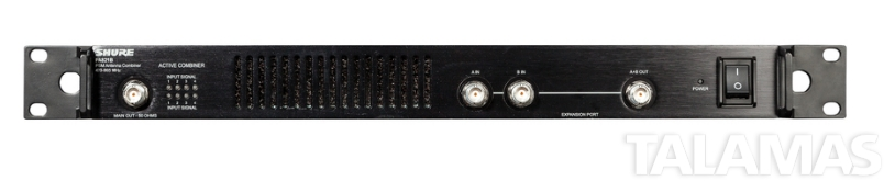 Shure PA821B, Eight Channel  Antenna Combiner, 470-952 MHz