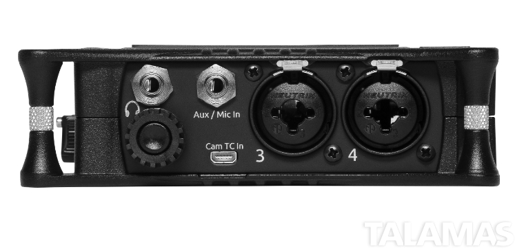 Sound Devices MIXPRE-6 II Audio Recorder Back View