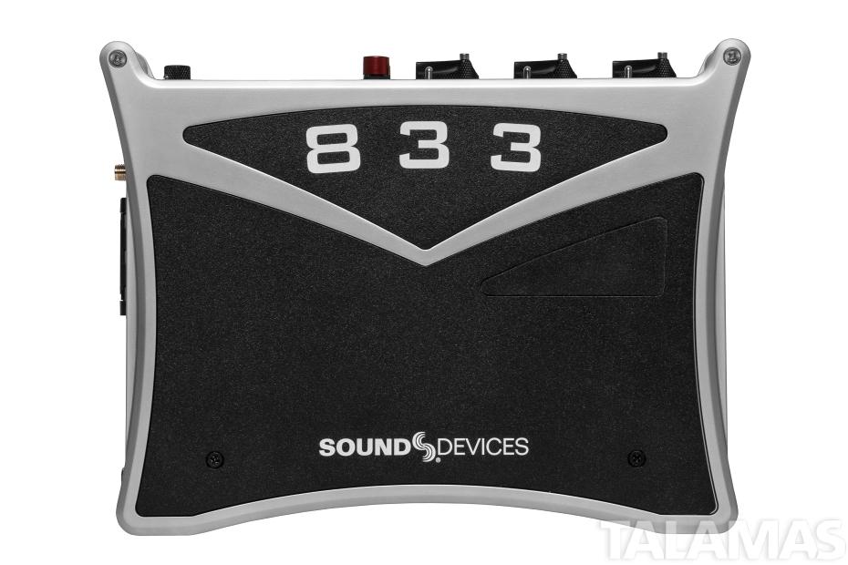 833 Mixer-Recorder top