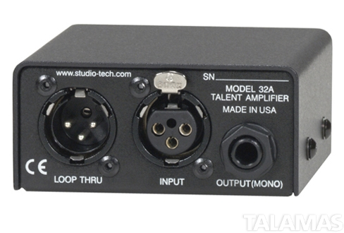 Studio Technologies Model 32A Talent Amplifier