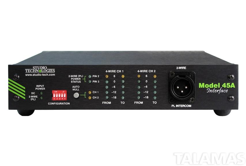 Studio Technologies Model 45A Intercom Interface
