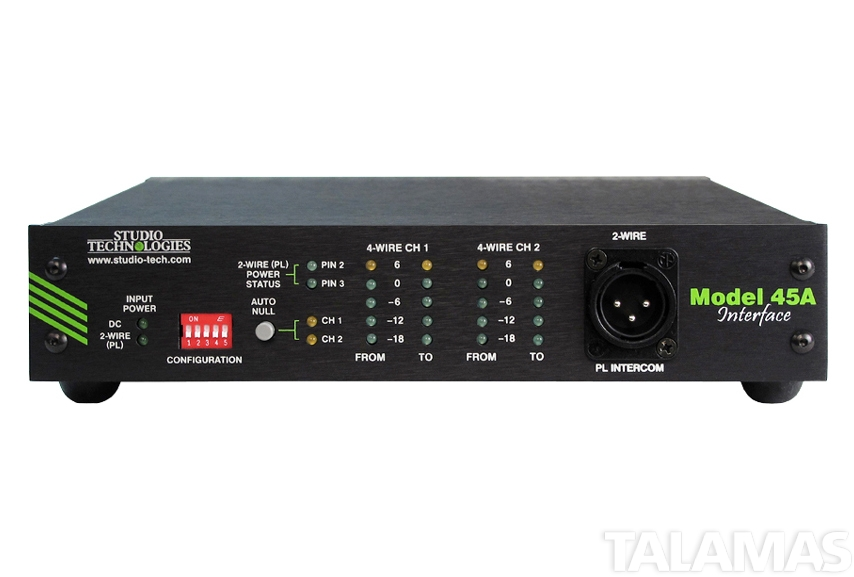 Studio Technologies Model 45A Intercom Interface