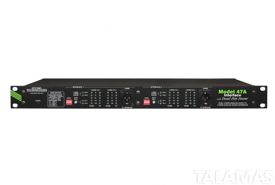 Studio Technologies Model 47A two wire (PL) Interface