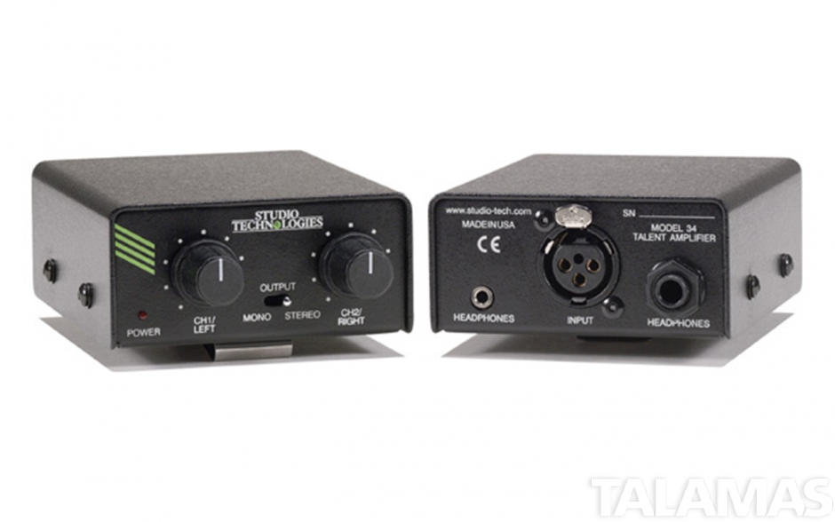 Studio Technologies Model 34 Talent Amplifier