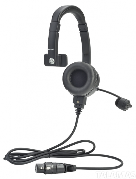 Clear-Com LW Single-Ear Standard HeadSet