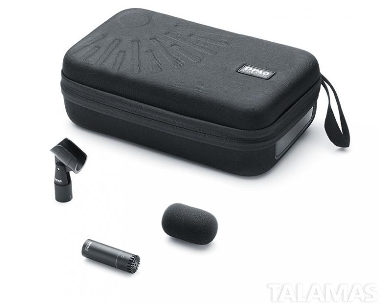 DPA  2006A, d:dicate Twin Diaphragm Omni Microphone. Black.