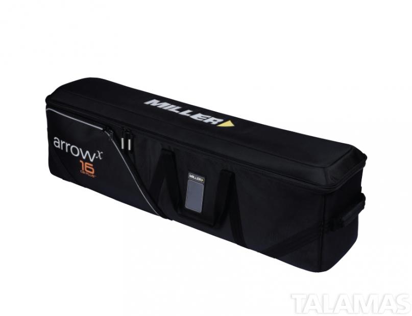 Miller System Arrowx X5 1-Stage AL w/Sprinter II Aluminum Tripod