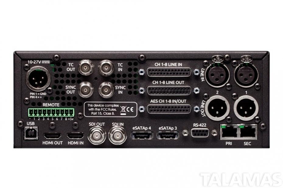 Sound Devices PIX 260i rear
